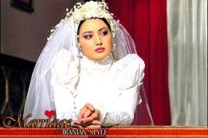 دختر  ایرانی در لباس عروسی